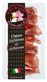 Coppa italienne en chiffonnade Frais Devant
