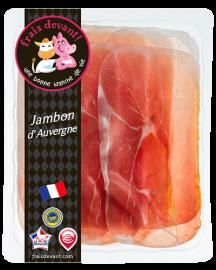 Jambon d'Auvergne tranché Frais Devant